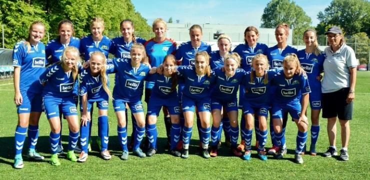 Rīgas Futbola skola un Babītes SK iegūst titulus meiteņu čempionātā
