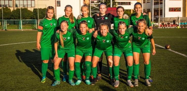 FS Metta debijas sezonā uzvar Sieviešu futbola 1. līgā