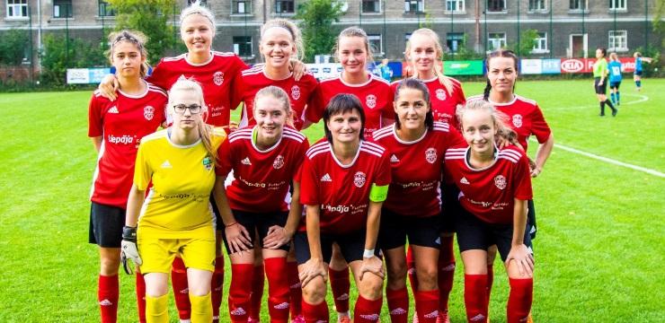 FK Liepāja ceturto reizi sasniedz Latvijas kausa finālu sievietēm