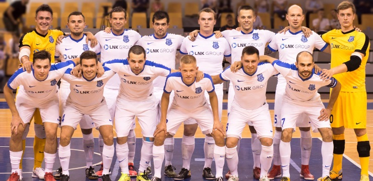 FK Nikars Jelgavā uzņems telpu futbola Čempionu līgas pamatkārtas spēles