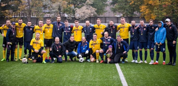 Bettend.com komanda uzvar Latvijas amatieru minifutbola finālturnīrā