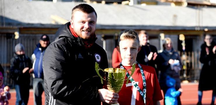Ilūkstes U-14 komanda uzvar jaunatnes čempionāta Attīstības grupā