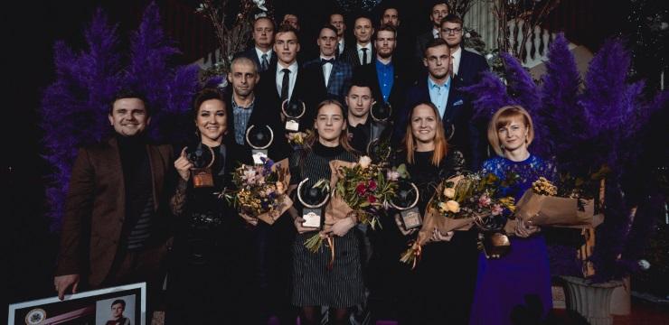 Dāvis Ikaunieks nosaukts par Latvijas gada futbolistu