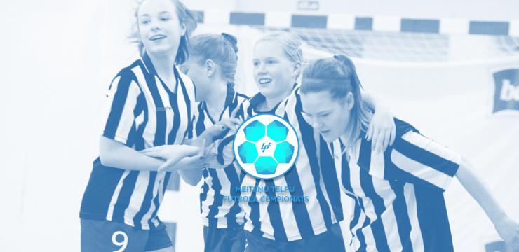 Meiteņu telpu futbola čempionātā jauns dalībnieku rekords
