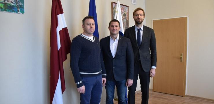Kaspars Gorkšs viesojas Ludzā un Krāslavā