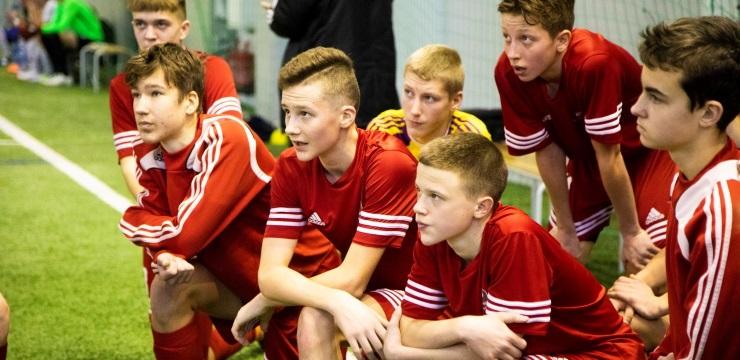"""""""Riga Cup"""" turnīrā reģionu U-15 izlasēm vietas labāko desmitniekā"""