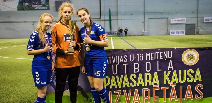Trešo gadu pēc kārtas U-16 komandas spēlēs Pavasara kausa izcīņā meitenēm
