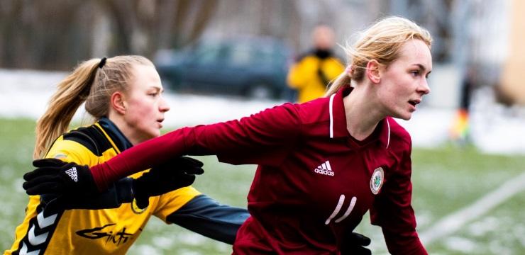 Sieviešu izlase Jelgavā divreiz uzņems Baltkrieviju