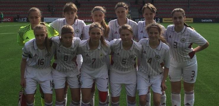 WU-17 izlasei pirmā uzvara UEFA Attīstības turnīrā