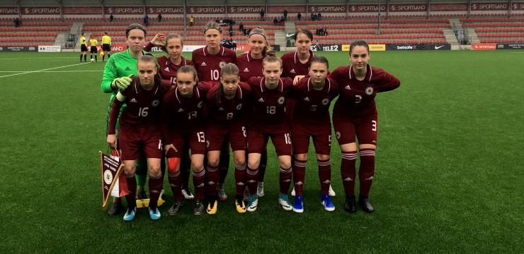 WU-17 izlasei pēc neveiksmes Tallinā trešā vieta UEFA Attīstības turnīrā