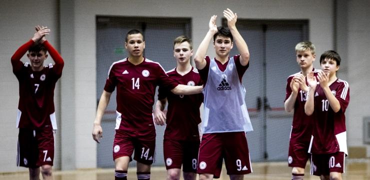 U-19 telpu futbola izlase Valmierā un Rīgā uzņems Krievijas vienaudžus