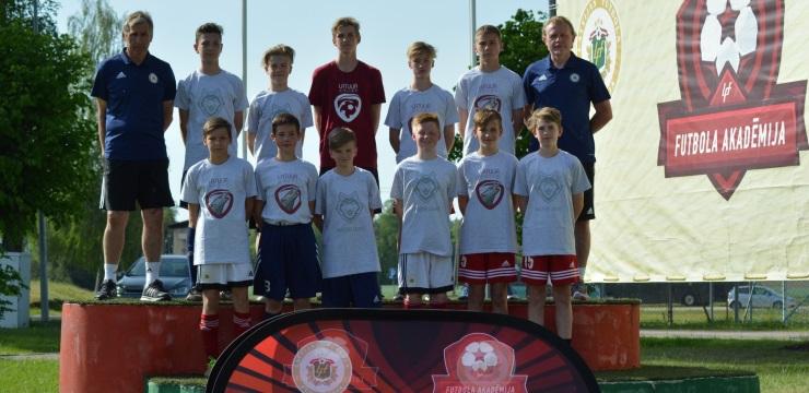 LFF Futbola akadēmijā iesaistās 2006. dzimšanas gada futbolisti