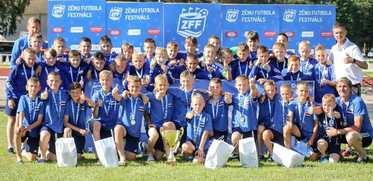BFC Daugavpils nosargā ZFF A grupas čempionu titulu