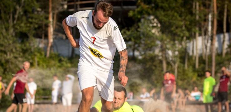 Sāksies Latvijas pludmales futbola čempionāts