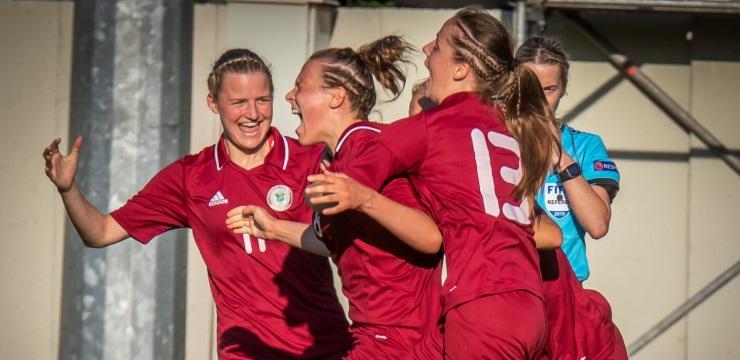 Sieviešu izlase Baltijas kausu sāk ar uzvaru