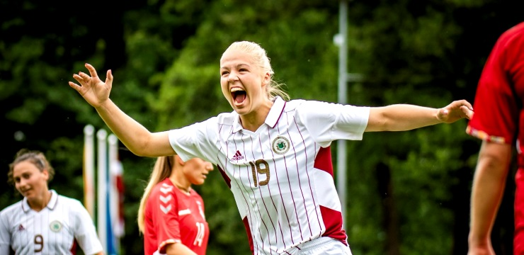 Mediju akreditēšanās EČ kvalifikācijas spēlei sievietēm Latvija - Zviedrija