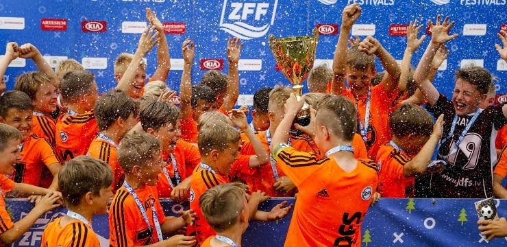 JDFS Alberts pirmoreiz vēsturē iekļūst ZFF A grupā