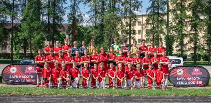 Jaunākie Futbola akadēmijas dalībnieki aizvadījuši talantu skati
