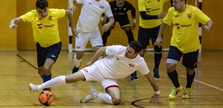 DSV Latvia piektā uzvara pēc kārtas Rīgas telpu futbola čempionātā