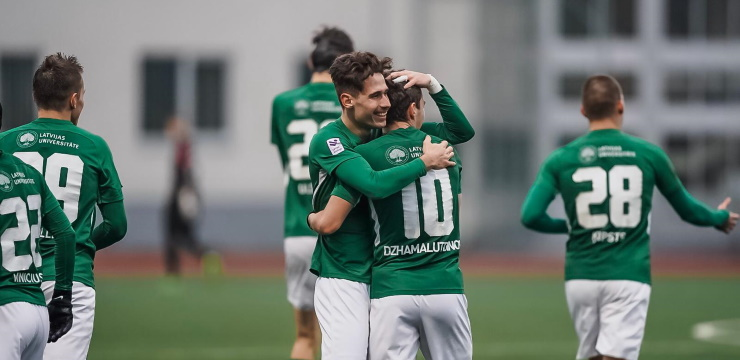 FK Metta aizraujošā cīņā nosargā vietu Virslīgā