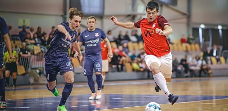 Telpu futbola Virslīga: Lūšiem pirmā neveiksme, Rīgas derbijā neizšķirts
