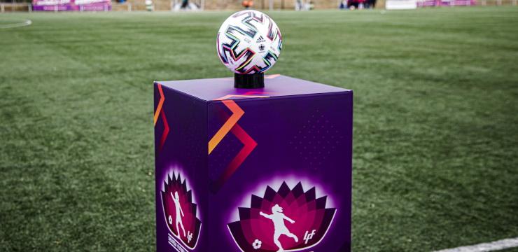 Pārcelta 18. aprīļa Sieviešu futbola līgas spēle