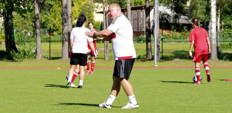 Kopā sanāk Latvijas WU-15 izlases kandidātes