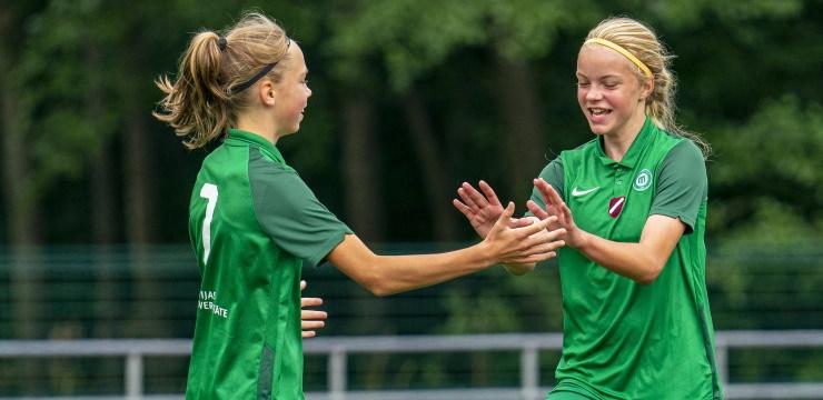 FS Metta un FK Iecava uzvar meiteņu U-12 čempionātos