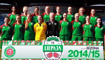 FK Liepāja/LSS izcīna sudraba medaļas Sieviešu Futbola Līgā