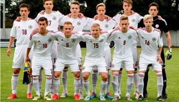 Latvijas U17 izlase Rīgā uzsākusi Eiropas čempionāta kvalifikāciju