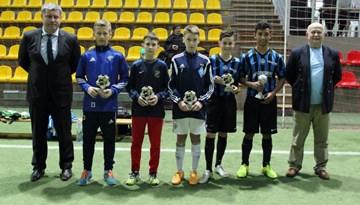 Trīs U-13 vecuma grupas komandas no Latvijas startējušas starptautiskā turnīrā Viļņā