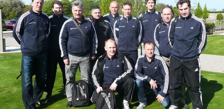 Latvijas futbola speciālisti UEFA Study group Scheme semināros (+FOTO)
