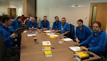 Latvijas delegācija apmeklē UEFA Study Group Scheme semināru Anglijā