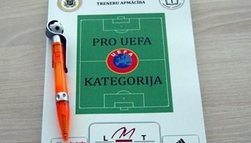 PRO-UEFA treneru apmācības kursu pirmās sesijas apskats