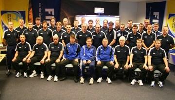 Aizvadīts A-UEFA un PRO-UEFA treneru izglītības seminārs