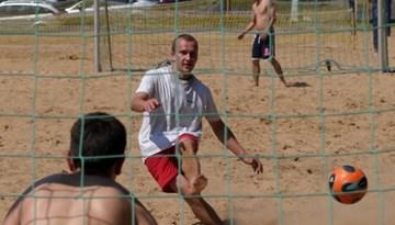 Sāksies Rīgas pludmales futbola čempionāts