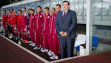 """Dainis Kazakevičs: """"Spēlēs pret Horvātiju un Šveici alkstam sevi apliecināt no labākās puses."""""""