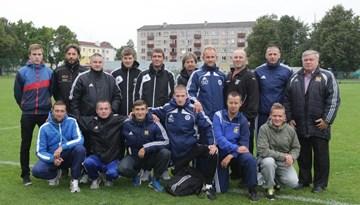 Ventspilī aizvadīts izglītības seminārs Kurzemes reģiona treneriem futbolā 8 pret 8