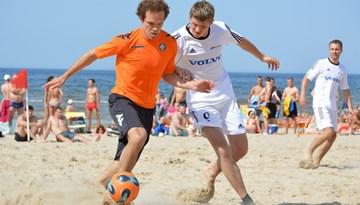 Latvijas pludmales futbola čempionāts startēs 15.jūnijā