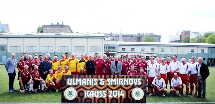 """''Daugava'' uzvar veterānu turnīrā """"Ulmanis & Smirnovs Kauss 2014"""""""