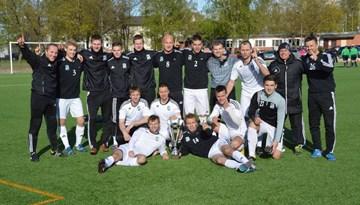 """""""RTU Futbola centrs"""" ar uzvaru startē UEFA Regions' Cup sacensībās Horvātijā"""