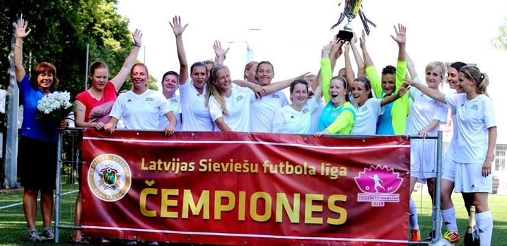 Rīgas Futbola skola - 2014.gada Latvijas čempiones