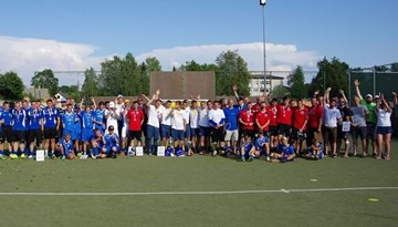 """Rēzeknē aizvadīts ceturtais tradicionālais minifutbola turnīrs """"Jevsejevu kauss 2014"""""""