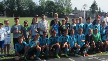 """Ludzā aizvadīts starptautisks jauniešu futbola turnīrs """"Ludza-2014"""" U-13 vecuma grupā"""