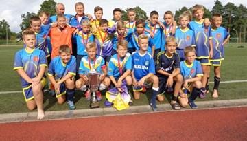 Valkas un Valgas stadionos risinājās starptautisks futbola turnīrs