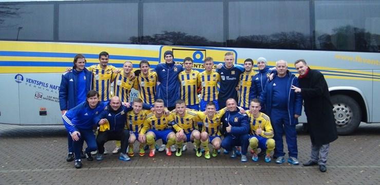 """FK """"Ventspils-2"""" priekšlaicīgi kļuvuši par Dublieru čempionāta uzvarētājiem"""