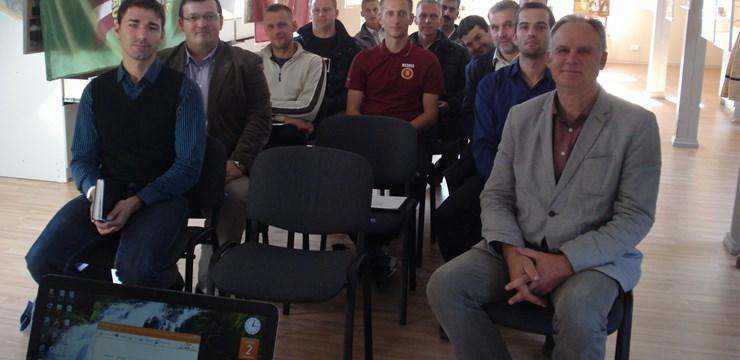 LFF prezentē futbola attīstības programmas Ziemeļaustrumu reģiona jaunatnes klubiem