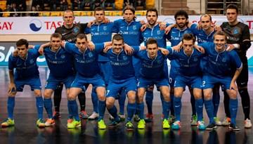 """FK """"Nikars"""" izcīna Latvijas telpu futbolam vēsturisku punktu Kazahstanā"""