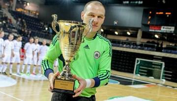 Latvijas telpu futbola izlase novembrī Igaunijā aizstāvēs Baltijas čempionu titulu