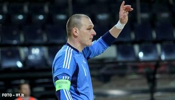 Latvijas telpu futbola izlase pārspēj Lietuvu un ceturto reizi triumfē Baltijas Kausa izcīņā